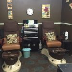 Swanky Chic Salon Nail Room